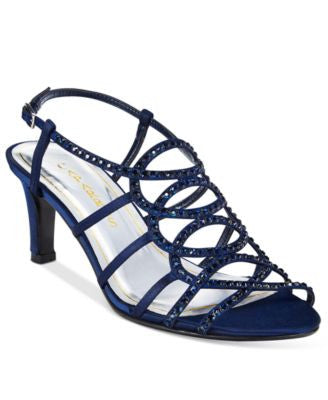 Caparros A-List Caged Slingback Evening Sandals