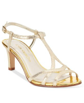 Caparros Bonita T-Strap Evening Sandals