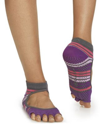 Gaiam Mary Jane No Slip Yoga Socks