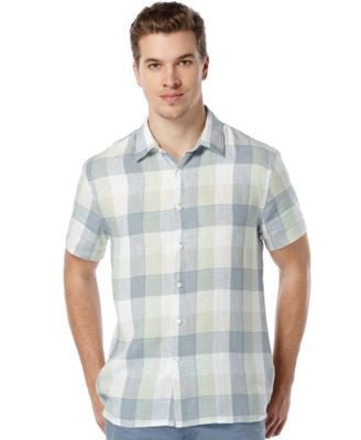 Perry Ellis Buffalo-Check Shirt