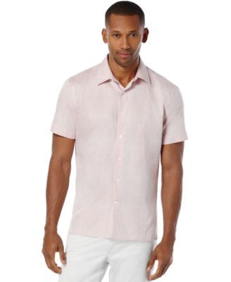 Perry Ellis Slim-Fit Ombré Plaid Dobby Shirt