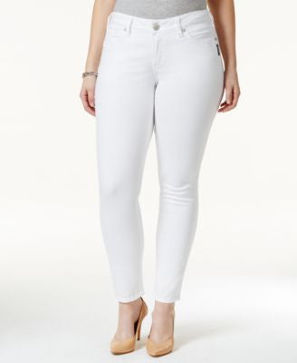 Silver Jeans Plus Size Suki Super-Skinny Jeans