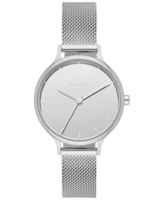 Skagen Women's Anita Stainless Steel Mesh Bracelet Watch 30mm SKW2410