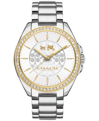 COACH WOMEN'S TRISTEN STAINLESS STEEL BRACELET WATCH 36MM 14502472