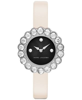 Marc Jacobs Women's Tootsie Pink Leather Strap Watch 30mm MJ1443