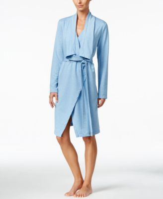 Nautica Draped-Collar Robe