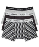 Alfani Men's Knit Tagless Slim Fit Stretch Trunks 3-Pack, Only at Vogily