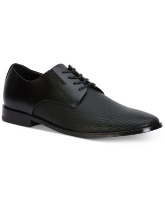 Calvin Klein Men's Naemon Perforated Leather Oxfords