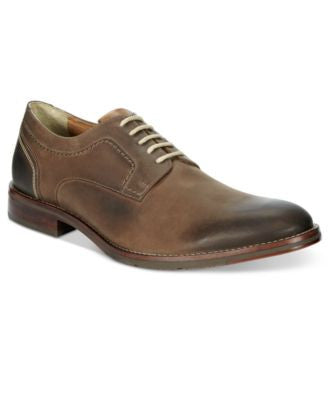 Johnston & Murphy Men's Garner Plain Toe Oxfords