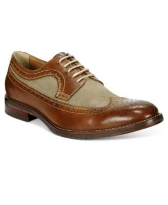 Johnston & Murphy Men's Garner Wing Tip Oxfords