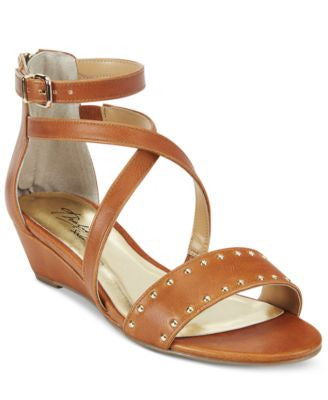 Thalia Sodi Pia Ankle-Strap Demi Wedge Sandals, Only at Vogily