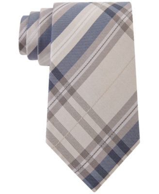 Kenneth Cole Reaction Men's Plaid Classic Tie