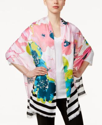 INC International Concepts Printed Pashmina Wrap, Only at Vogily