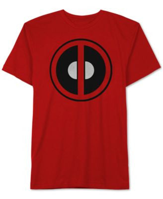Men's Deadpool Red Graphic-Print T-Shirt from Jem
