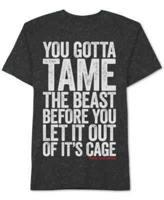 Men's Zoolander Tame The Beast Graphic-Print T-Shirt from Jem