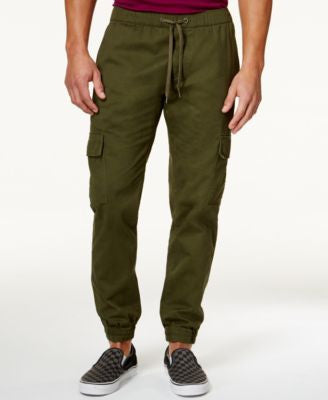 Univibe Men's Break Twill Cargo Jogger Pants