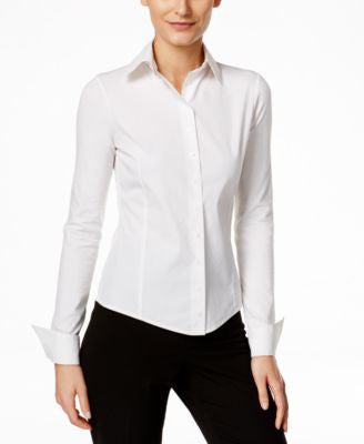 Calvin Klein Fit Solutions Wrinkle-Resistant Shirt, Only at Vogily