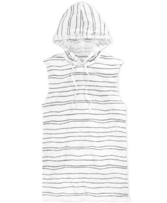 American Rag Men's Tied Up Rope-Stripe Hooded Tank, Only at Vogily
