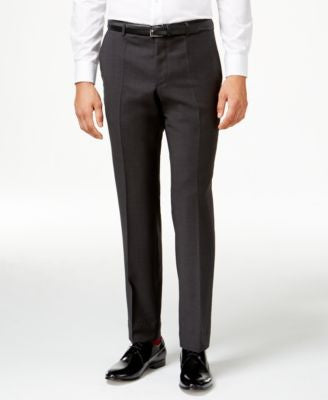 HUGO by Hugo Boss Men's Charcoal Slim-Fit Pants