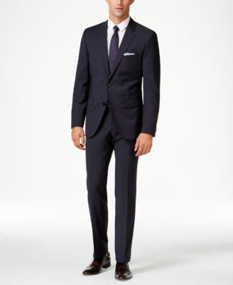 HUGO by Hugo Boss Men's Navy Extra Slim-Fit Suit Separates
