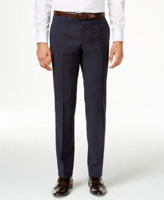 HUGO by Hugo Boss Men's Navy Extra Slim-Fit Pants