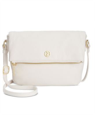 Giani Bernini Pebble Leather Mini Crossbody, Only at Vogily