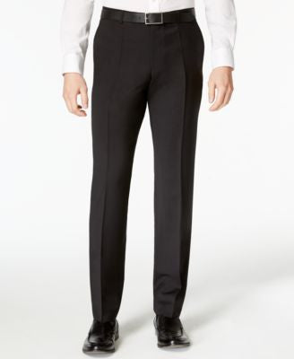 HUGO by Hugo Boss Men's Black Extra Slim-Fit Pants