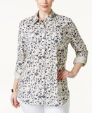 Style & Co. Plus Size Printed Blouse, Only at Vogily