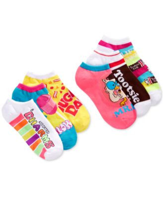 Planet Sox Women's Assorted Candy No Show 6-Pk. Socks