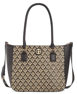 Giani Bernini Graphic Tote, Only at Vogily