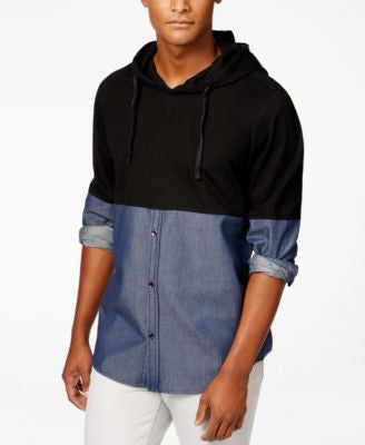 INC International Concepts Men's Long Sleeve Klahn Shirt, Only at Vogily