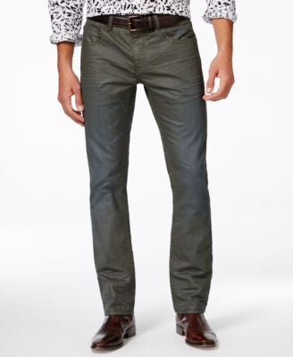INC International Concepts Men's Theo Slim Straight Jeans, Only at Vogily