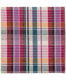 Tommy Hilfiger Men's Madras Plaid Print Pocket Square