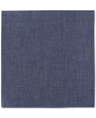 Tommy Hilfiger Men's Chambray Pocket Square