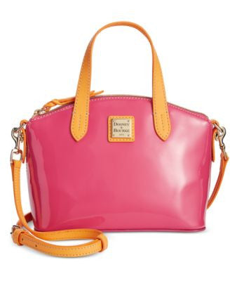 Dooney & Bourke Patent Mini Ruby Satchel