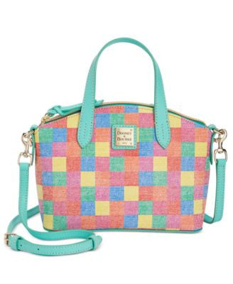 Dooney & Bourke Quadretto Mini Satchel