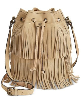 Patricia Nash Bronte Fringe Bucket Bag