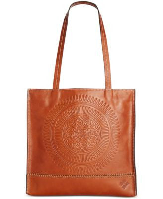 Patricia Nash Tooled Sunburst Toscano Tote