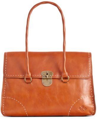 Patricia Nash Heavy Stitch Vienna Satchel