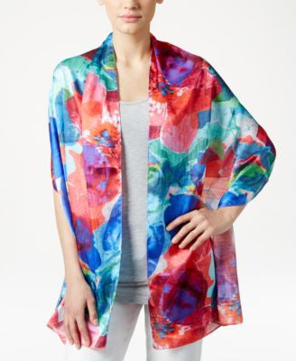 Echo Amazon Floral Oblong Scarf