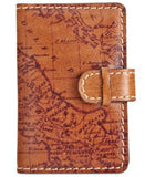 Patricia Nash Vista Signature Map Business Card Case