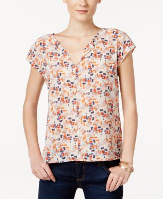 Sanctuary City Girl Printed Top