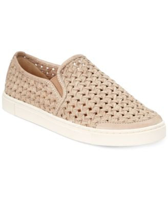 Frye Women's Gemma Woven Slip-on Sneakers