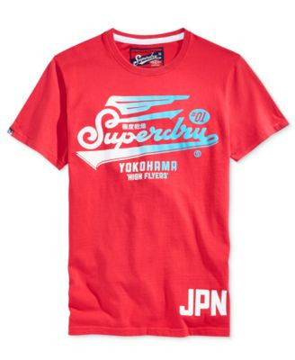Superdry Men's High Flyers Graphic-Print Logo T-Shirt