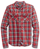 Superdry Men's Grindlesawn Plaid Long-Sleeve Shirt