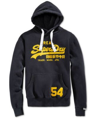 Superdry Men's Vintage Logo Entry Graphic-Print Hoodie