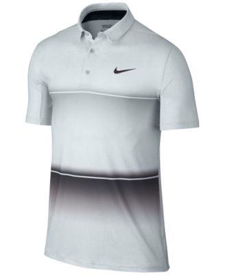 Nike Men's Mobility Stripe Dri-FIT Golf Polo