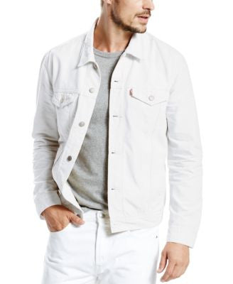 Levi's® Men's White Denim Trucker Jacket