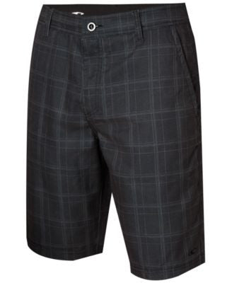O'Neill Men's Executive Plaid Hybrid Shorts
