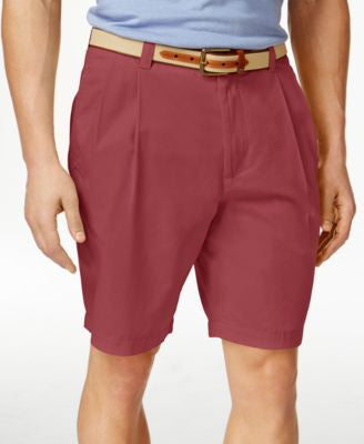 Club Room Men's Double-Pleated Shorts, Only at Vogily